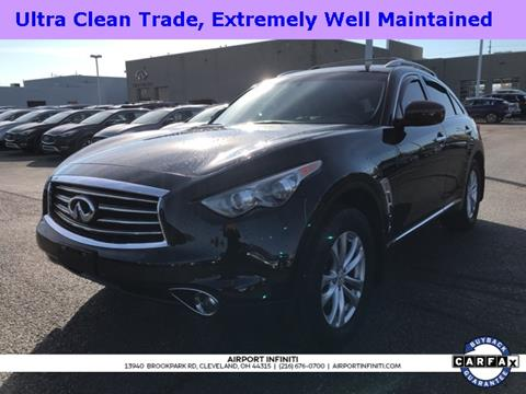 2012 Infiniti FX35 for sale in Cleveland, OH