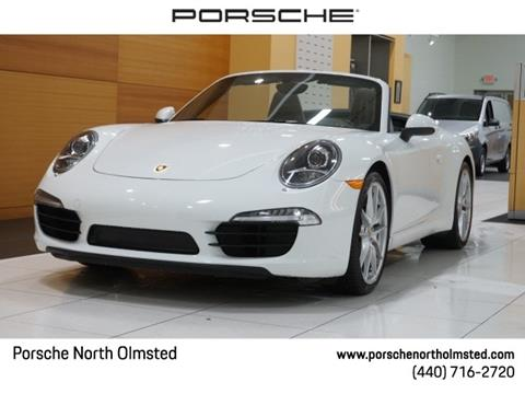 2013 Porsche 911 for sale in North Olmsted, OH