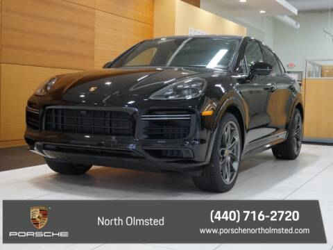2020 Porsche Cayenne Turbo Coupe for sale at PORSCHE OF NORTH OLMSTED in North Olmsted OH