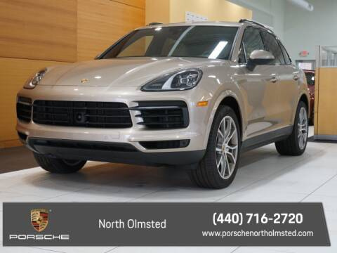 2019 Porsche Cayenne S for sale at PORSCHE OF NORTH OLMSTED in North Olmsted OH
