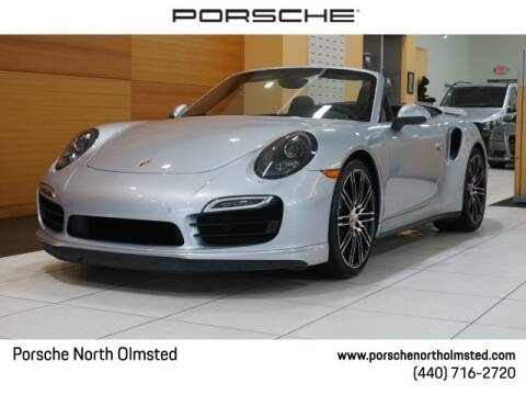 2016 Porsche 911 Turbo for sale at PORSCHE OF NORTH OLMSTED in North Olmsted OH