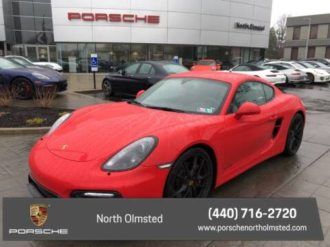 2016 Porsche Cayman GTS for sale at PORSCHE OF NORTH OLMSTED in North Olmsted OH
