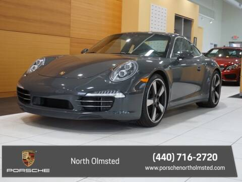 2014 Porsche 911 for sale at PORSCHE OF NORTH OLMSTED in North Olmsted OH