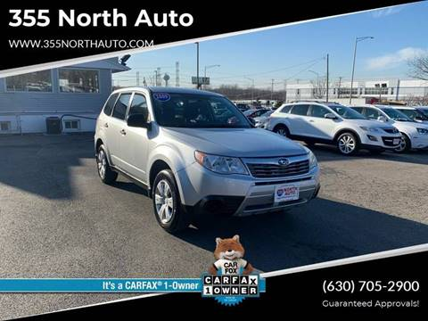 2009 Subaru Forester for sale at 355 North Auto in Lombard IL
