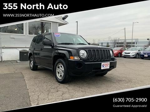 2010 Jeep Patriot for sale at 355 North Auto in Lombard IL