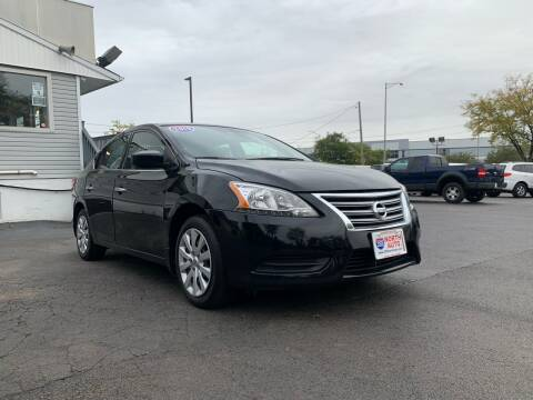 2015 Nissan Sentra for sale at 355 North Auto in Lombard IL