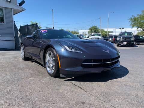 2014 Chevrolet Corvette for sale at 355 North Auto in Lombard IL