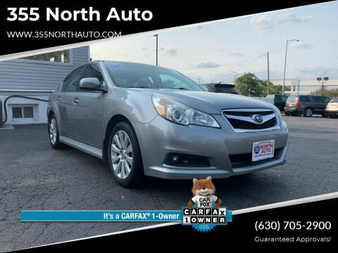 2010 Subaru Legacy for sale at 355 North Auto in Lombard IL