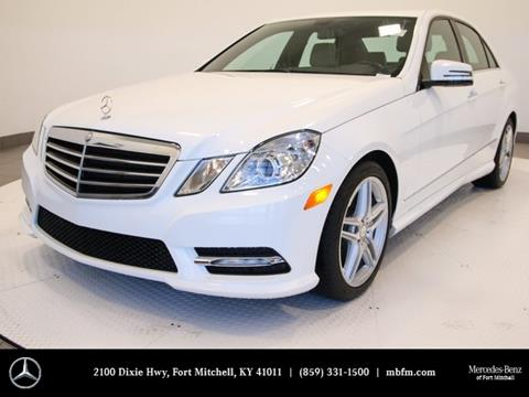 2013 Mercedes-Benz E-Class for sale in Fort Mitchell, KY