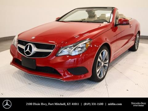 2017 Mercedes-Benz E-Class for sale in Fort Mitchell, KY