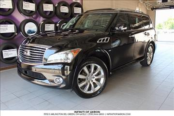 2014 Infiniti QX80 for sale in Akron, OH
