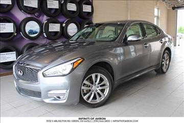2015 Infiniti Q70 for sale in Akron, OH