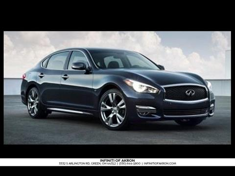 2017 Infiniti Q70L for sale in Akron, OH