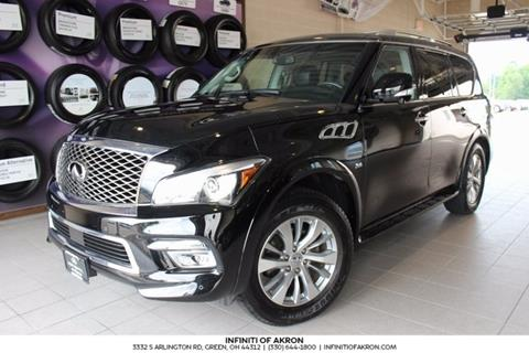 2015 Infiniti QX80 for sale in Akron, OH