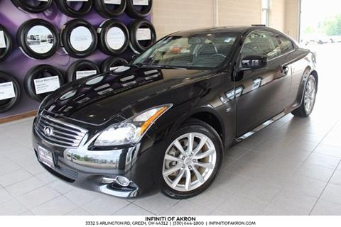 2015 Infiniti Q60 Coupe for sale in Akron, OH