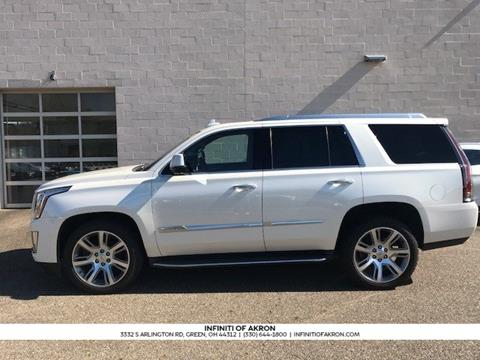 2015 Cadillac Escalade for sale in Akron, OH