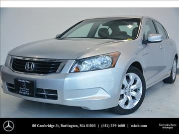 2008 Honda Accord for sale in Burlington, MA