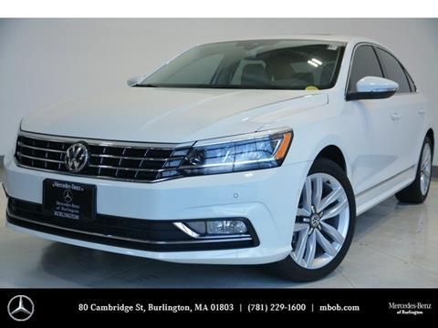 2017 Volkswagen Passat for sale in Burlington, MA