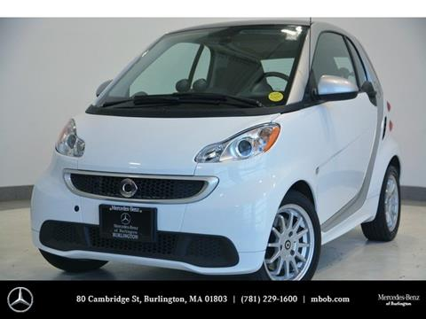 2013 Smart fortwo for sale in Burlington, MA