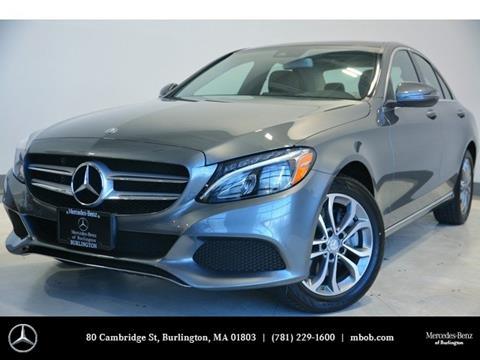 2017 Mercedes-Benz C-Class for sale in Burlington, MA