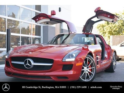 2012 Mercedes-Benz SLS AMG for sale in Burlington, MA