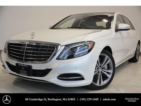 2015 Mercedes-Benz S-Class for sale in Burlington, MA