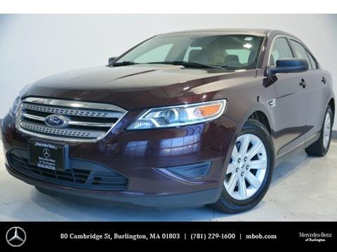 2011 Ford Taurus for sale in Burlington, MA