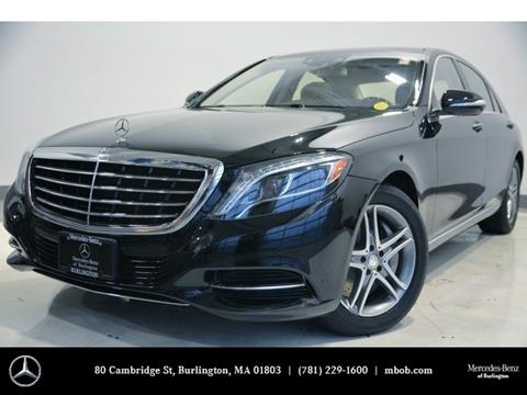2014 Mercedes-Benz S-Class for sale in Burlington, MA