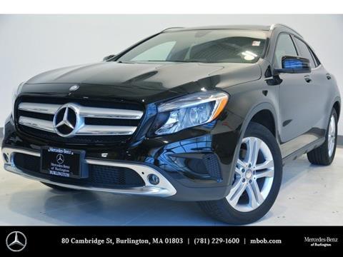 2016 Mercedes-Benz GLA for sale in Burlington, MA