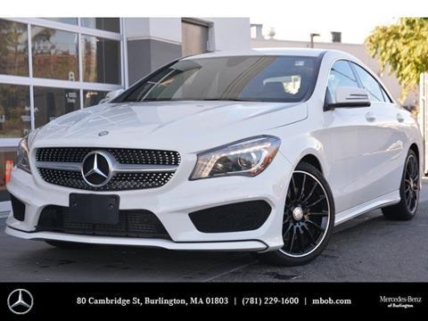 2015 Mercedes-Benz CLA for sale in Burlington, MA