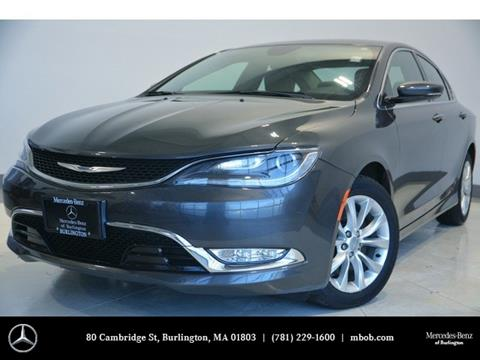 2015 Chrysler 200 for sale in Burlington, MA