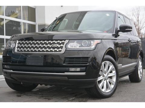 2015 Land Rover Range Rover for sale in Burlington, MA