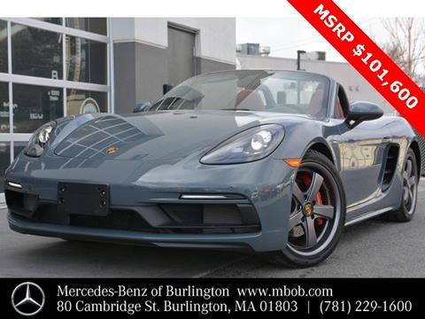 2018 Porsche 718 Boxster for sale in Burlington, MA