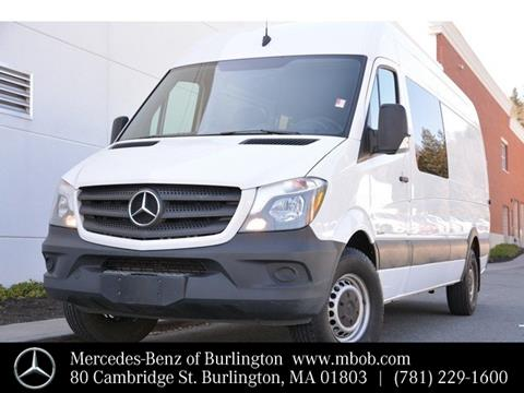 2016 Mercedes-Benz Sprinter Crew for sale in Burlington, MA