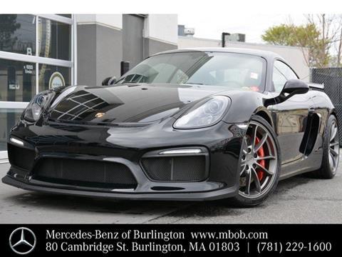 2016 Porsche Cayman for sale in Burlington, MA