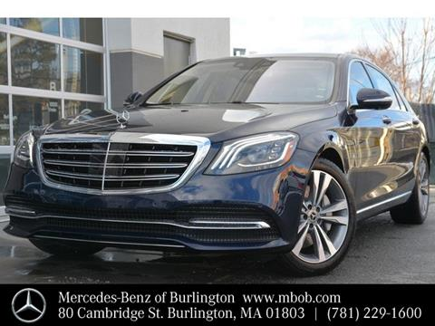 Used 2019 Mercedes-Benz S-Class For Sale - Carsforsale.com®