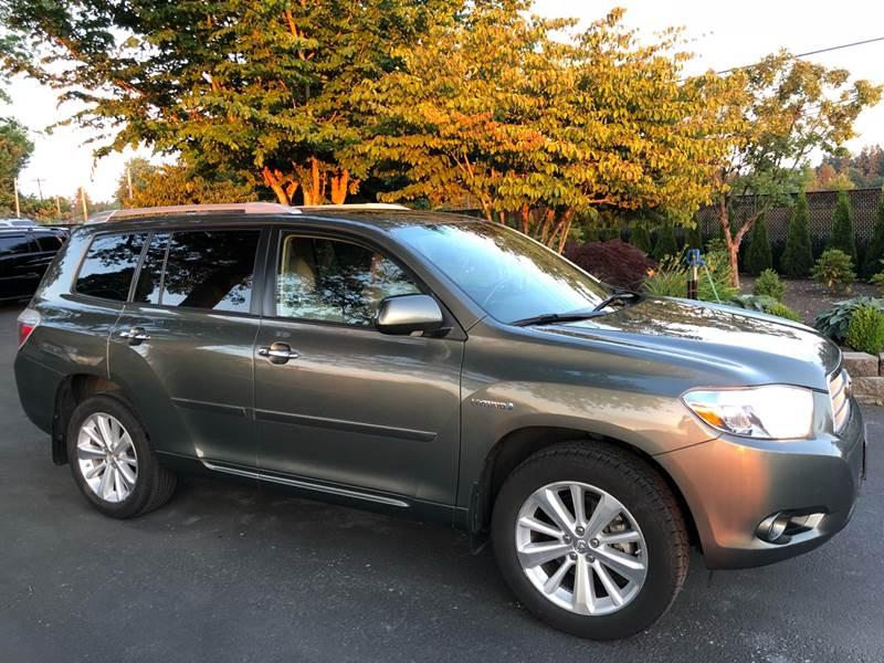 2010 Toyota Highlander Hybrid For Sale At Family Motor Co In Portland OR
