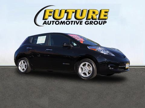 2013 Nissan LEAF for sale in Folsom, CA
