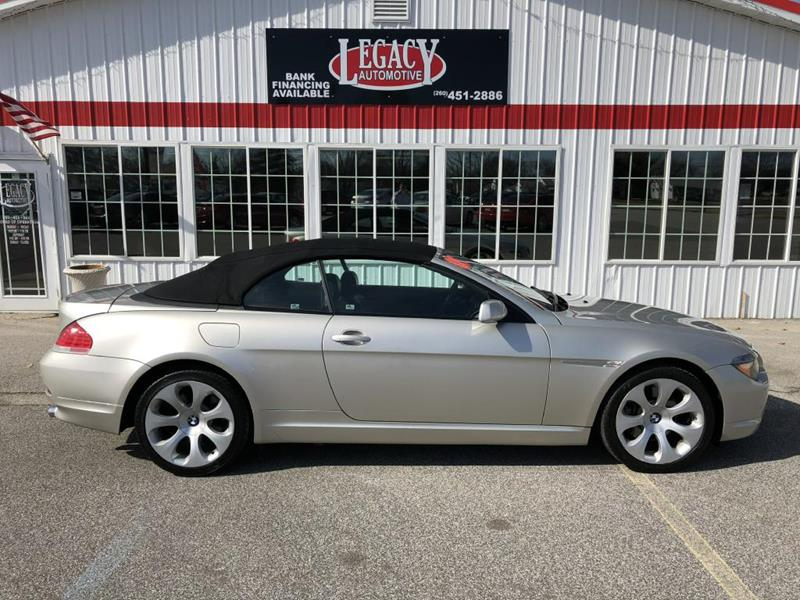 BMW Series Ci In Fort Wayne IN Legacy Automotive Inc - Bmw 645 convertible for sale