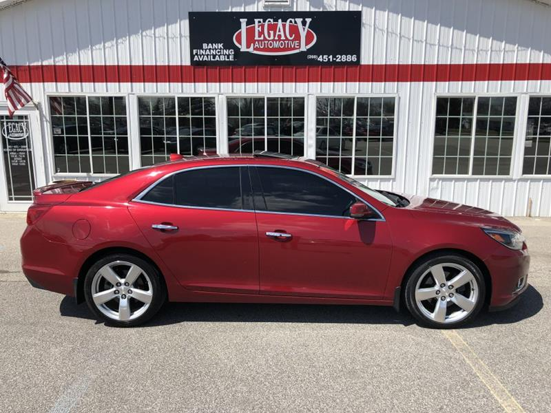 2014 Chevrolet Malibu For Sale At Legacy Automotive Inc. In Fort Wayne IN
