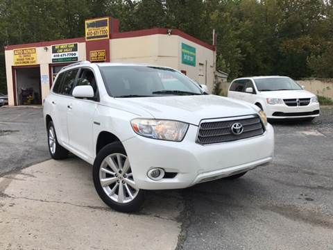 2008 Toyota Highlander Hybrid for sale in Abingdon, MD
