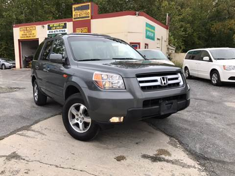 2008 Honda Pilot for sale in Abingdon, MD