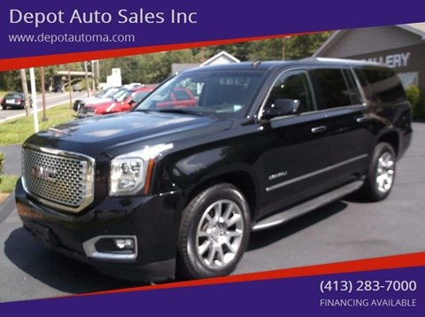 2015 GMC Yukon XL for sale at Depot Auto Sales Inc in Palmer MA