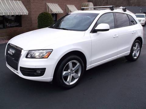 2012 Audi Q5 for sale at Depot Auto Sales Inc in Palmer MA