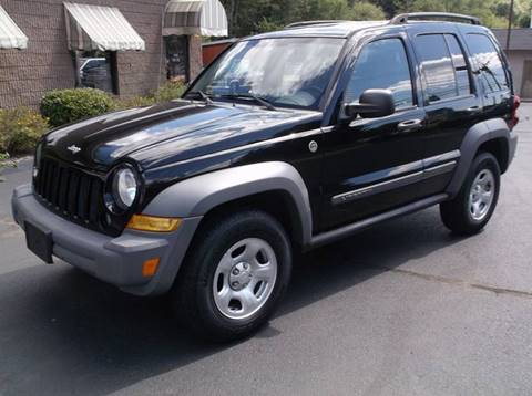2005 Jeep Liberty for sale at Depot Auto Sales Inc in Palmer MA