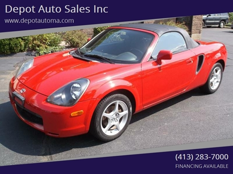 2001 Toyota MR2 Spyder for sale at Depot Auto Sales Inc in Palmer MA
