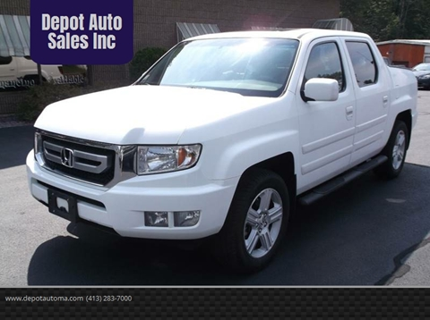 2010 Honda Ridgeline for sale at Depot Auto Sales Inc in Palmer MA