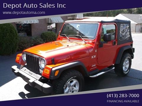 2003 jeep wrangler for sale in massachusetts. Black Bedroom Furniture Sets. Home Design Ideas