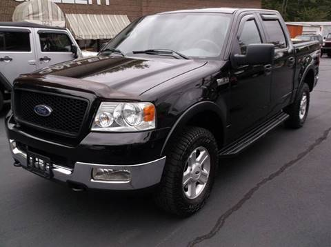 2004 Ford F-150 for sale at Depot Auto Sales Inc in Palmer MA