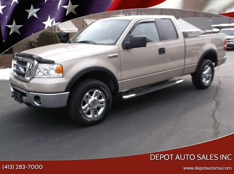 2008 Ford F-150 for sale at Depot Auto Sales Inc in Palmer MA